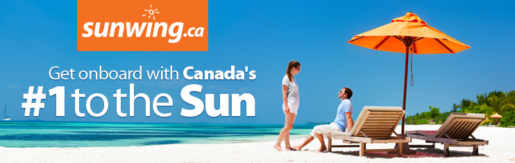 Get onboard with Canada's #1 to the Sun