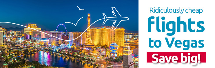 Ridiculously cheap flights to Las Vegas!