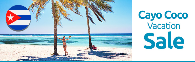 Cayo Coco-Last minute vacation packages