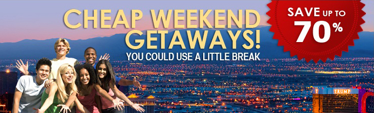 Best weekend getaways cheap romantic or last minute for Last minute romantic weekend getaway