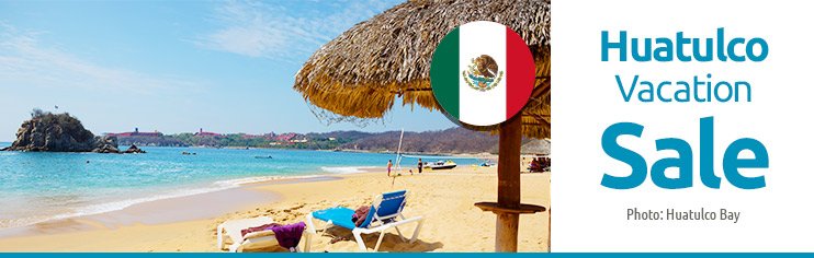 Huatulco-Last minute vacation packages