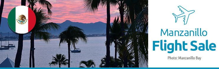Manzanillo-Cheap flights