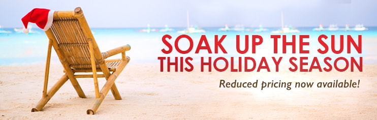 Soak Up The Sun This Holiday Season