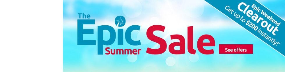 Epic summer deals