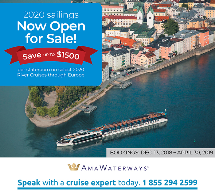 2020 Sailings now Open!
