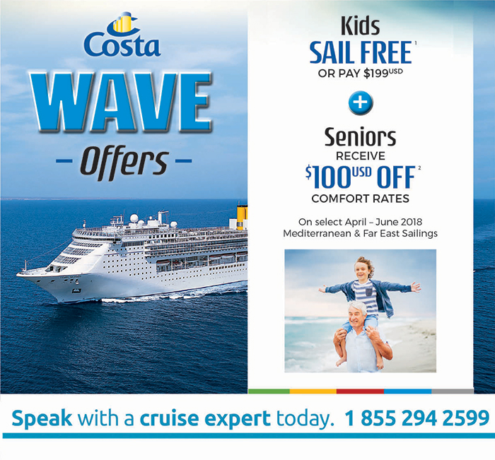 Costa Wave offers!