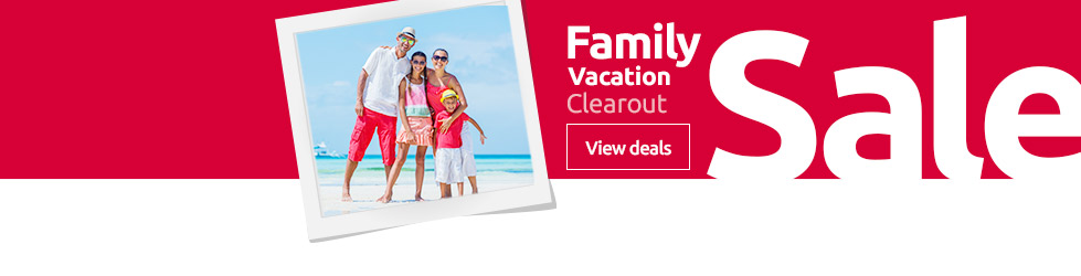 Family vacation clearout sale