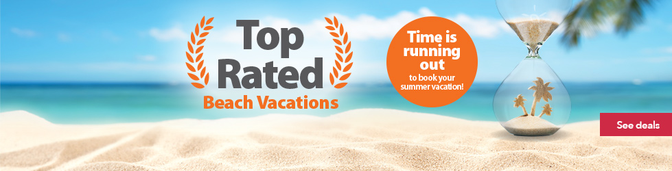 Top rated beach vacations