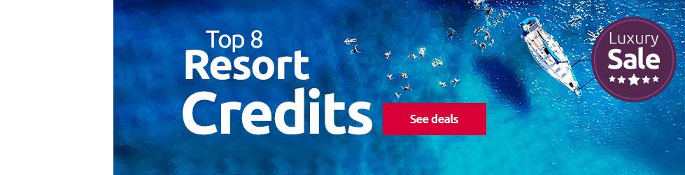 Resort credit offers