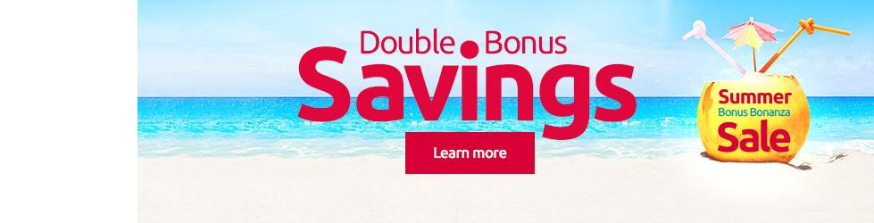 Summer Bonus Bonanza Sale