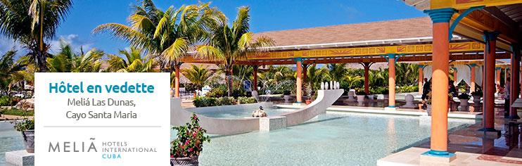 Melia Las Dunas à Cayo Santa Maria, au Cuba