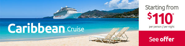 HAWAII Cruise: Starting from  $144 pp per night*