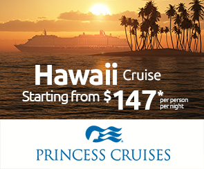 HAWAII  Cruise: Starting from $147 pp per night*