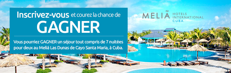 Enter or a chance to win with Barceló Group