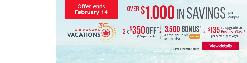 Air Canada Vactions