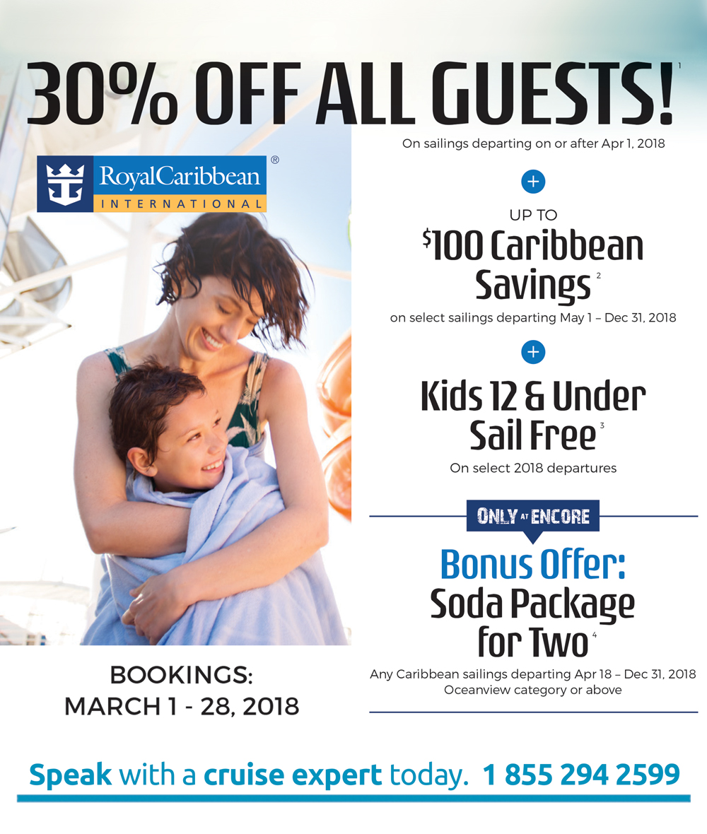 30% off all guests!