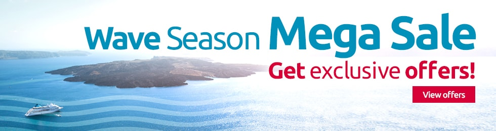Cruise - Wave Mega Season Sale!