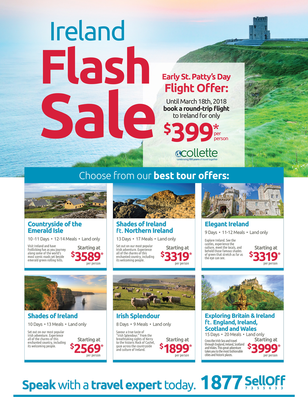 Save up to $100 on Europe packages & cruises!